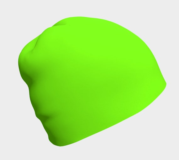 Chartreuse Beanie
