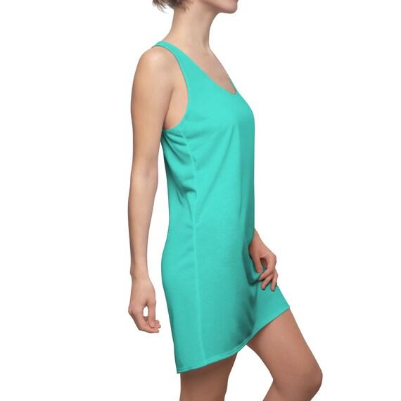 Turquoise Racerback Dress