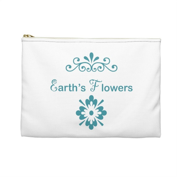 Earth's Flowers  Accessory Pouch