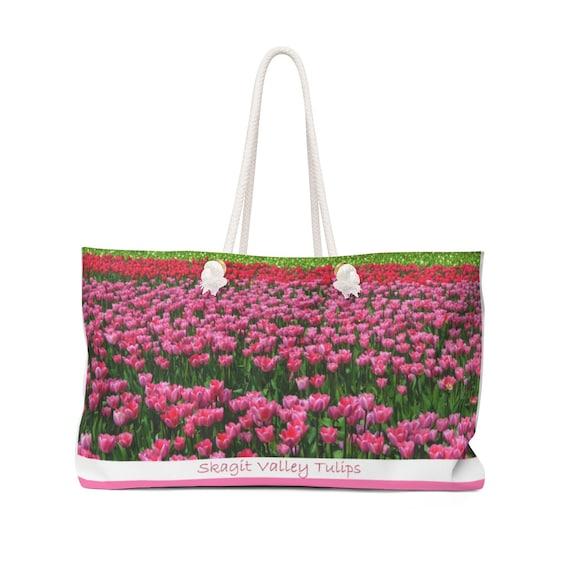 Skagit Valley Tulips Weekender Bag