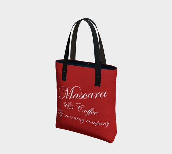 Mascara & Coffee Tote