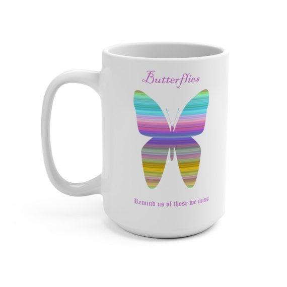 Butterfly Mug 15oz