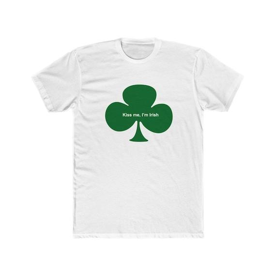Kiss me, I'm Irish - Men's Cotton Crew Tee