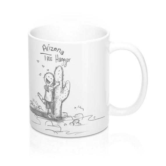 Arizona Tree Hugger Mug 11oz