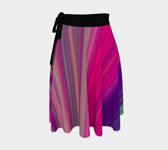 Bohemian Madwoman Wrap Skirt