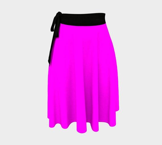 Magenta Wrap Skirt