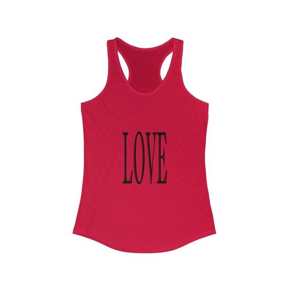 Women's LOVE Ideal Racerback Tank