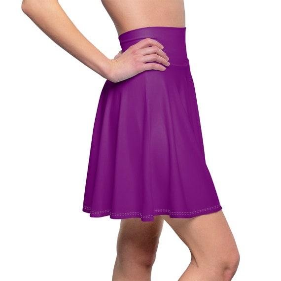 Women's True Purple Skater Skirt
