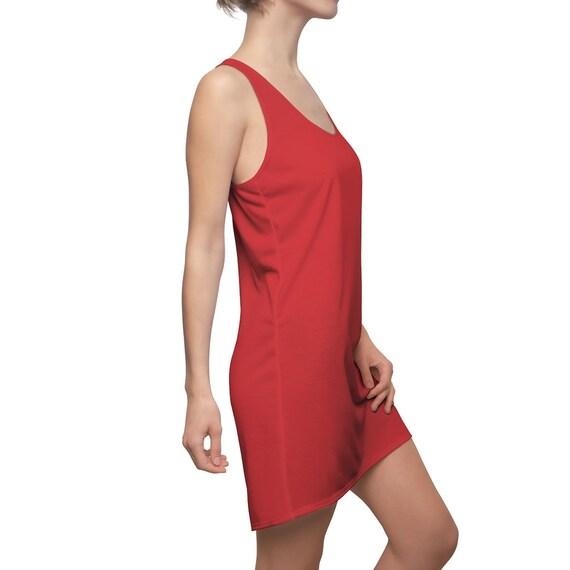 Flame Scarlet Racerback Dress