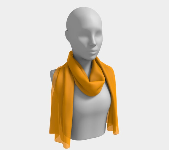 Fruity Orange Long Scarf