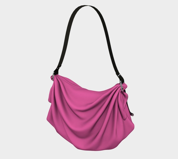 Hot Pink Origami Tote