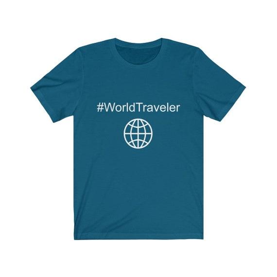 World Traveler Unisex Jersey Short Sleeve Tee
