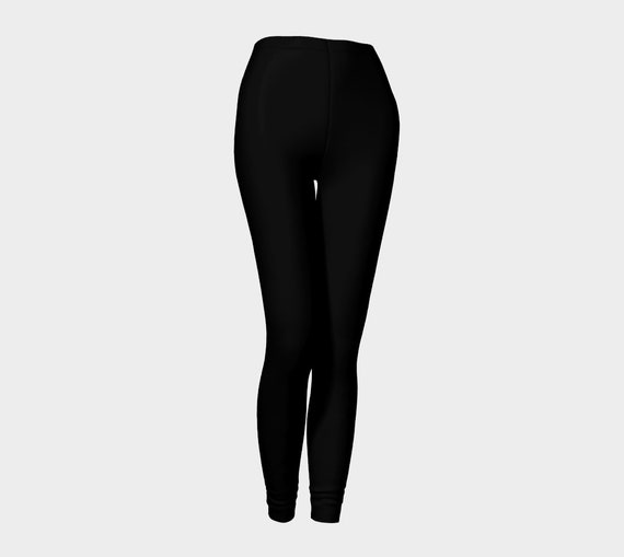 Bohemian Madwoman Black Leggings