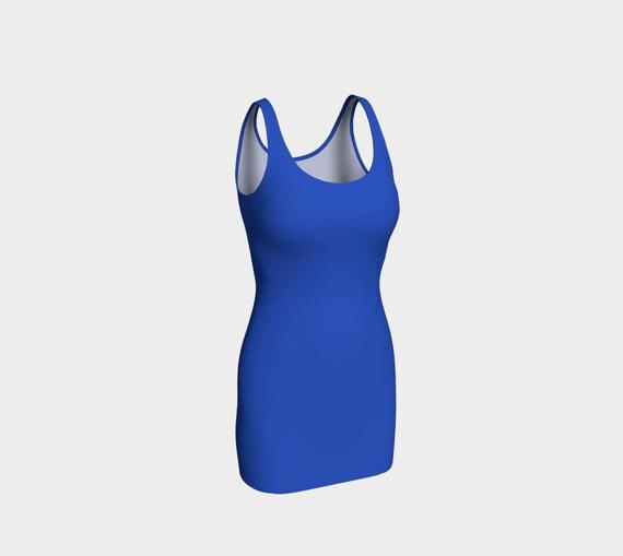 Cerulean Blue Bodycon Dress
