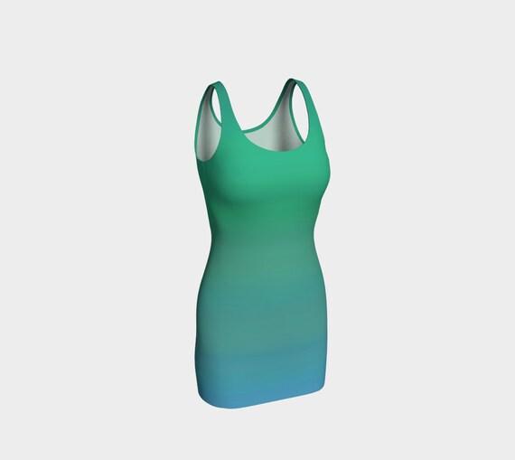 Ocean Breeze Bodycon Dress