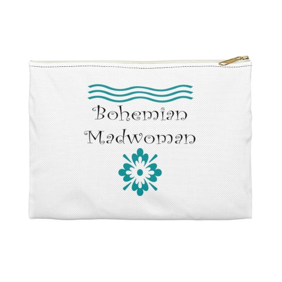 Bohemian Madwoman (front and back)  - Accessory Pouch Signature design