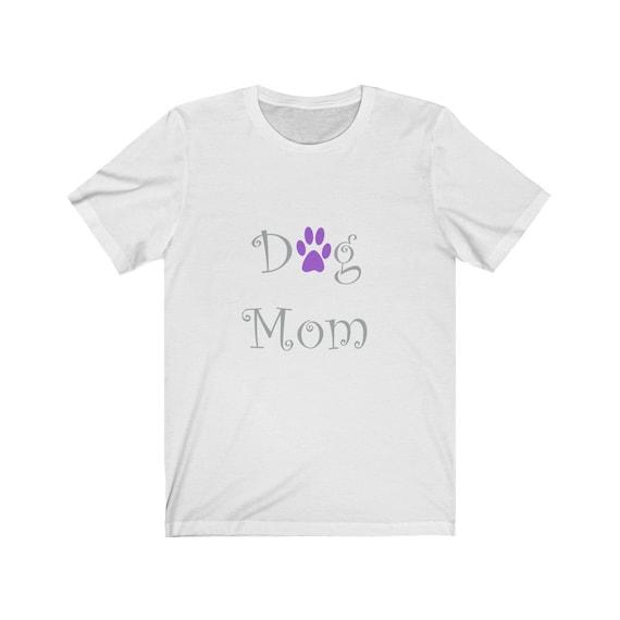 Dog Mom Jersey Short Sleeve Tee