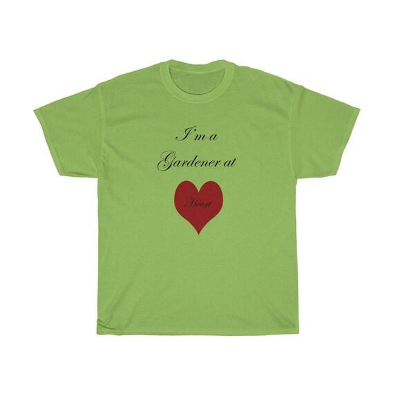 I'm a Gardener at Heart - Unisex Heavy Cotton Tee