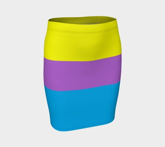 Color Me Rad Fitted Skirt