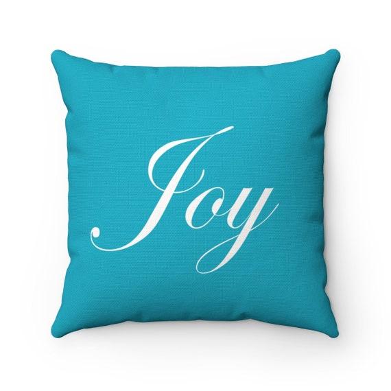 Joy Spun Polyester Square Pillow
