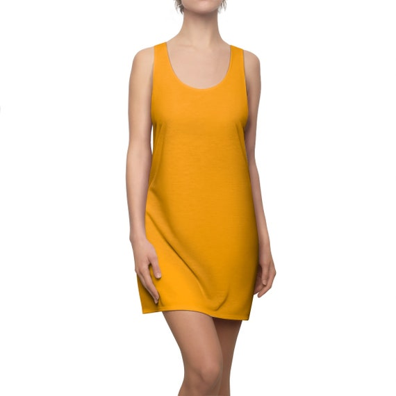 Fruity Orange Racerback Dress