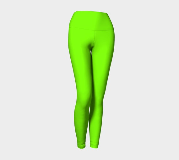 Chartreuse Yoga Leggings