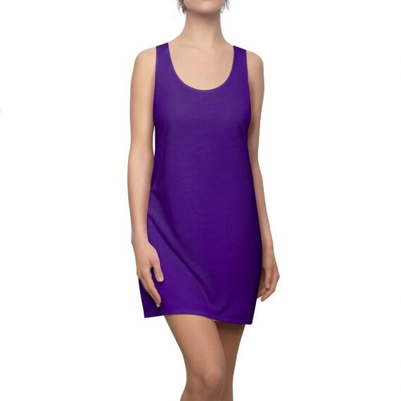 Indigo Racerback Dress
