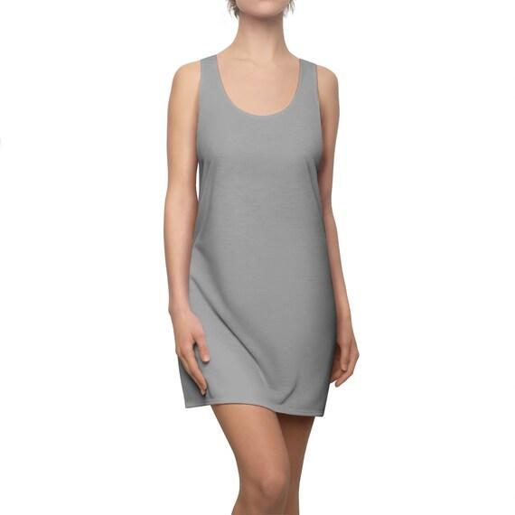 Dark Grey Racerback Dress