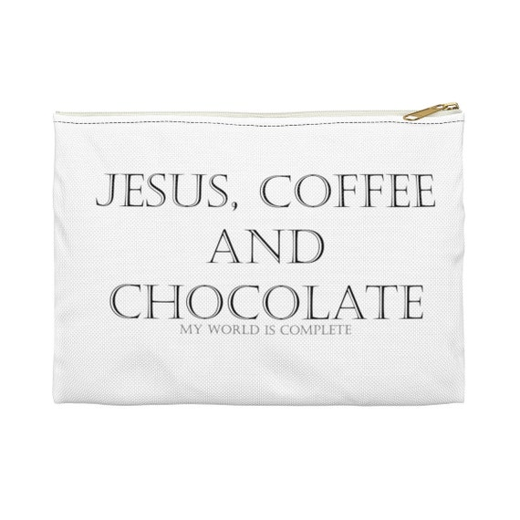Jesus Coffee and Chocolate - Accessory Pouch