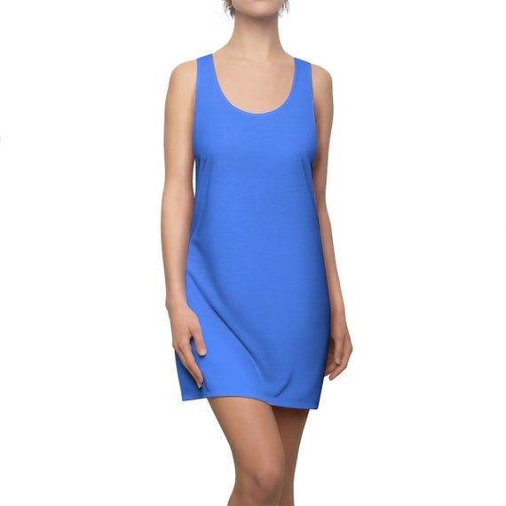 Blueberry Racerback Dress