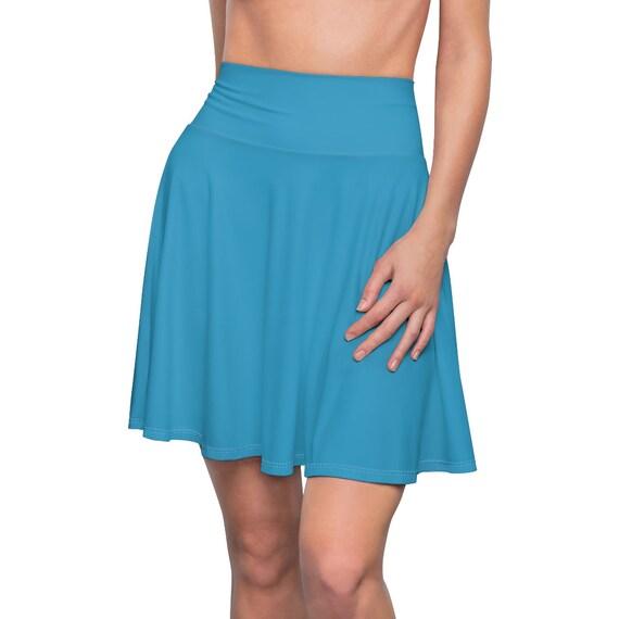 Women's Peacock Skater Skirt
