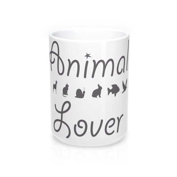 Animal Lover Mug 15oz