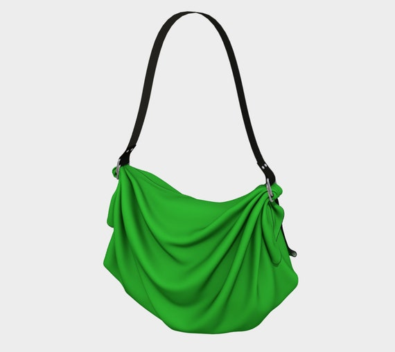 Lime Origami Tote