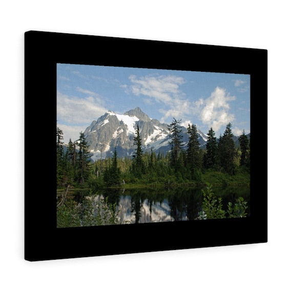 Mount Baker, Washington State Canvas Gallery Wraps