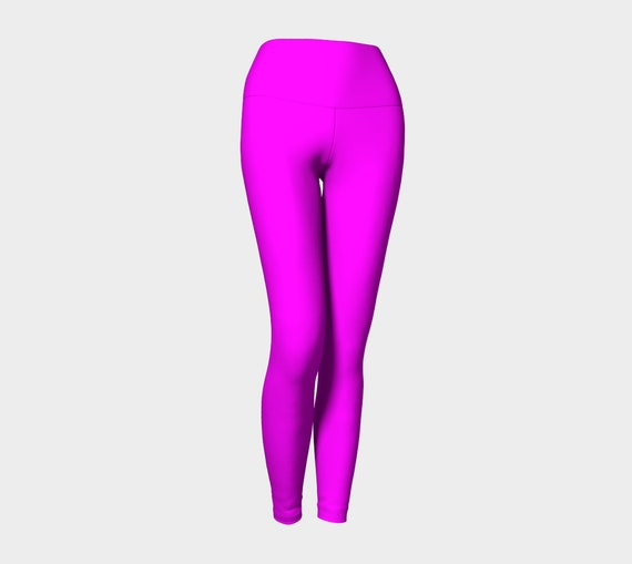Magenta Yoga Leggings