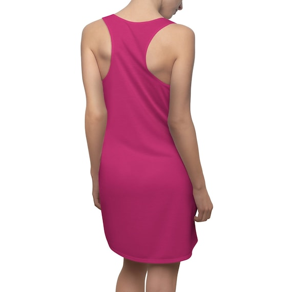 Pink Yarrow Racerback Dress