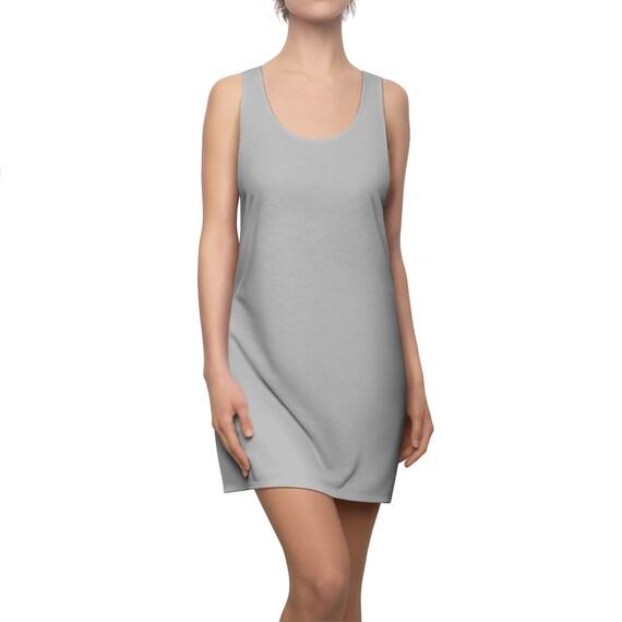 Silver Racerback Dress