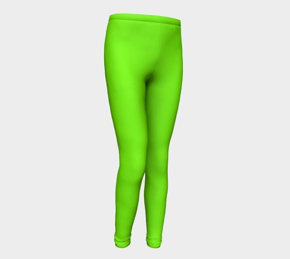 Chartreuse Youth Leggings