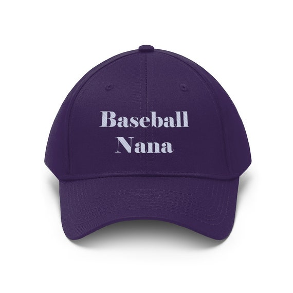 Embroidered Baseball Nana Unisex Twill Hat