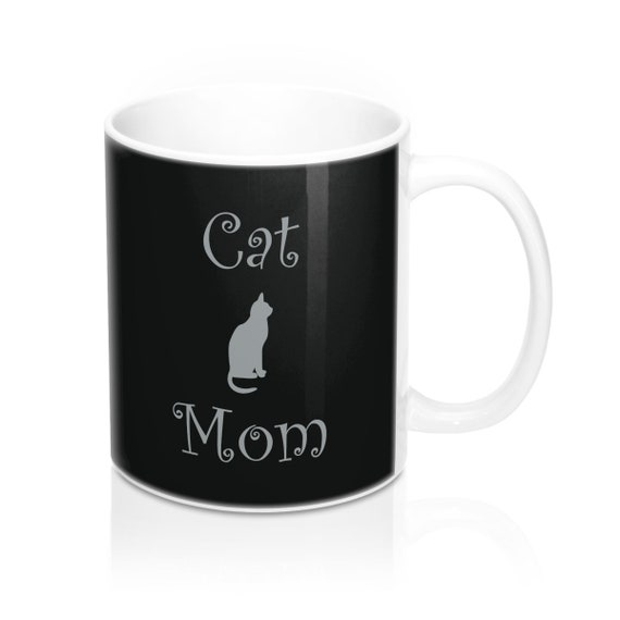 Cat Mom Mug 11oz
