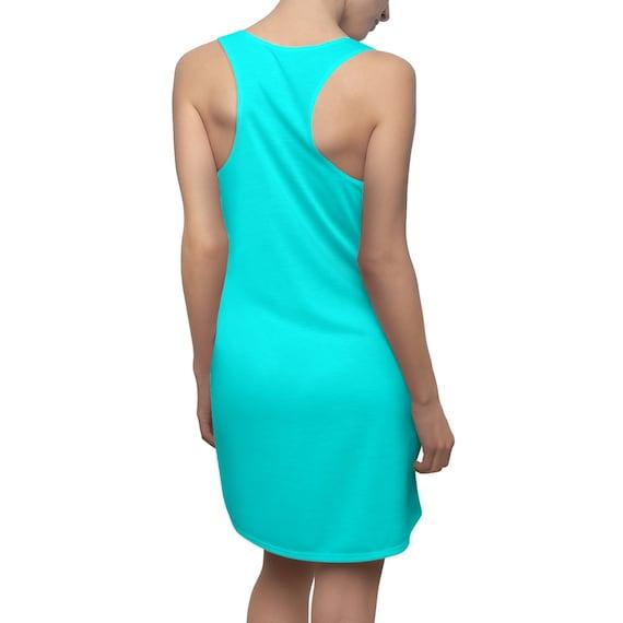 Aqua Racerback Dress