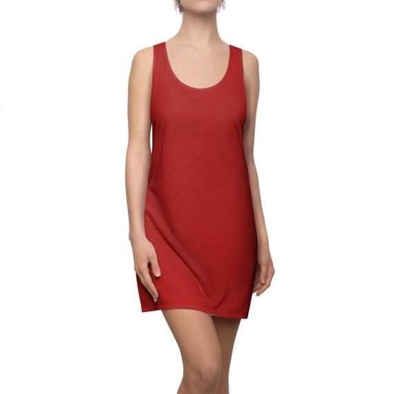 Christmas Red Racerback Dress