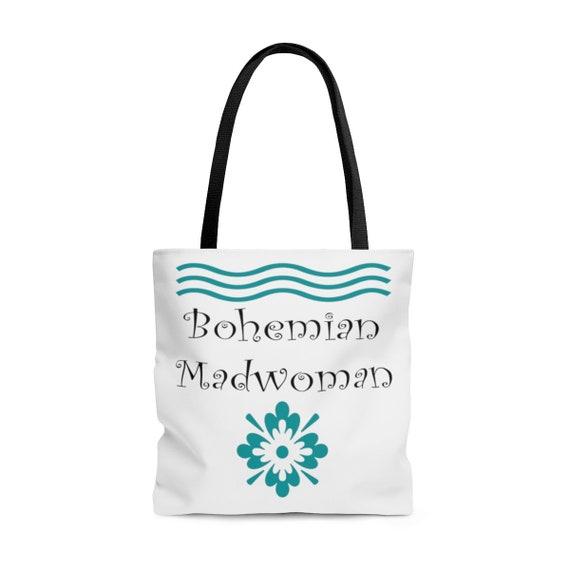Bohemian Madwoman - AOP Tote Bag Signature design