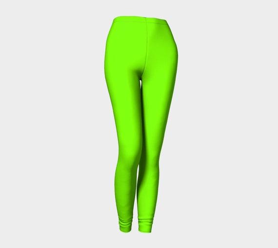 Bohemian Madwoman Chartreuse Leggings