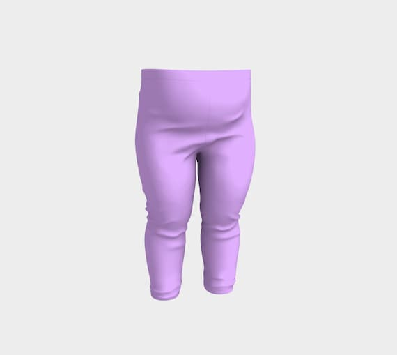 Mauve Baby Leggings