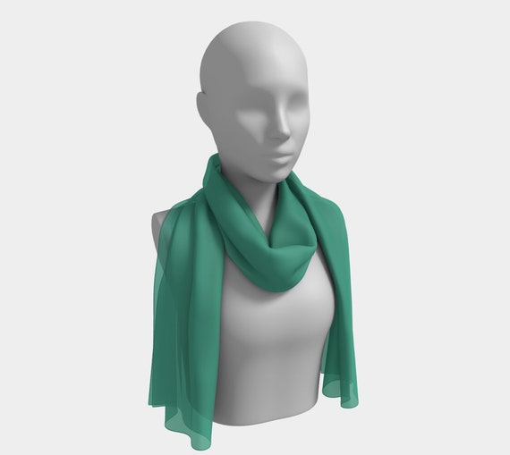 Ocean Breeze Long Scarf