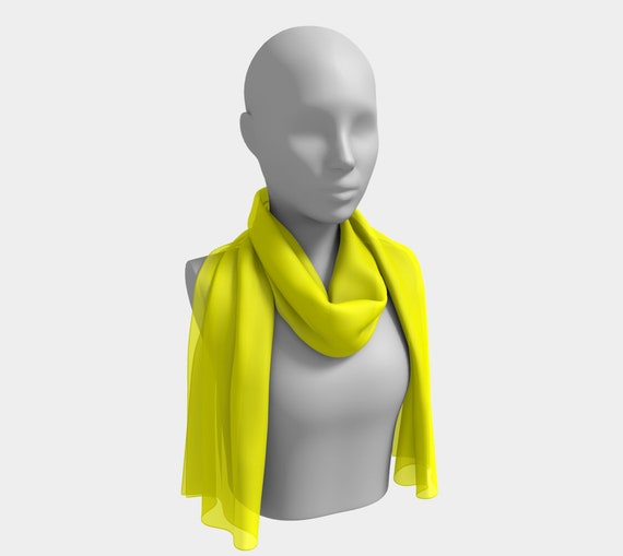 Yellow Long Scarf