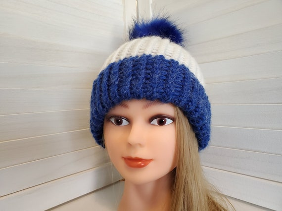 Hand-Loomed Double Brimmed Winter Beanie