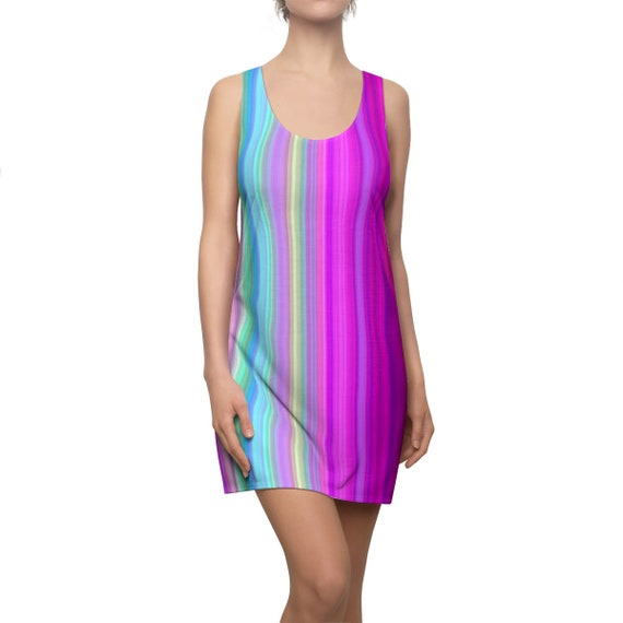 Rainbow Racerback Dress