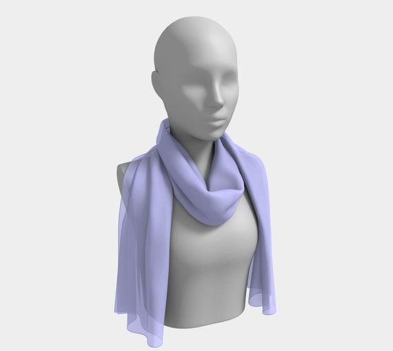 Periwinkle Long Scarf